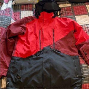 686 Large snowboarding jacket